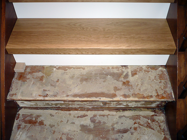 renovation marche escalier bois 28 images r 233 novation d escalier bois dizy 51530 maytop  # Renovation Marche Escalier Bois